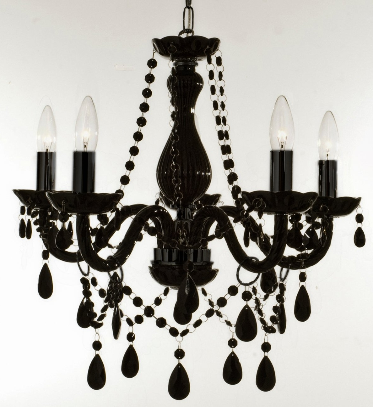 Black Chandeliers With Preferred Chandelier (View 9 of 20)
