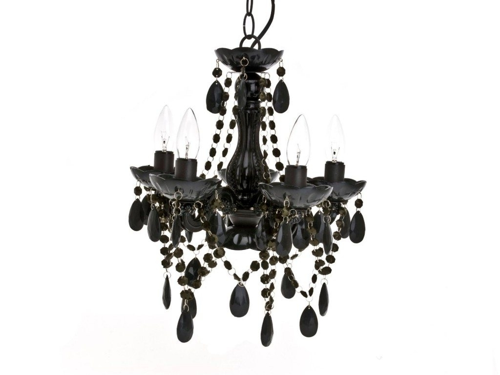 Black Glass Chandelier With Current Black Chandeliers & Pendant Lighting (View 8 of 20)