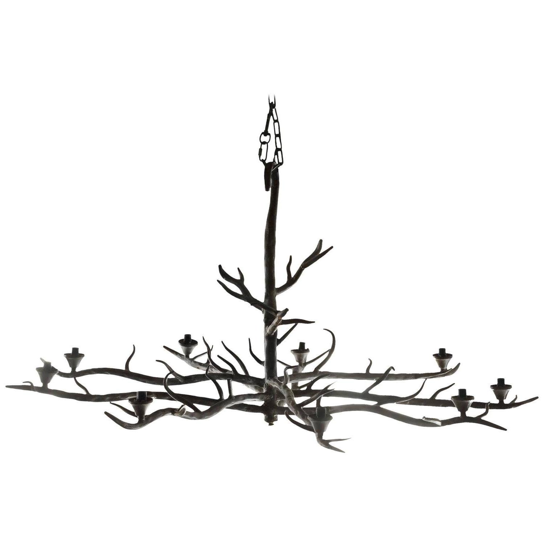 Branched Chandelier Inside 2018 Chandelier : Modern Branch Chandelier Rectangular Chandelier (View 18 of 20)