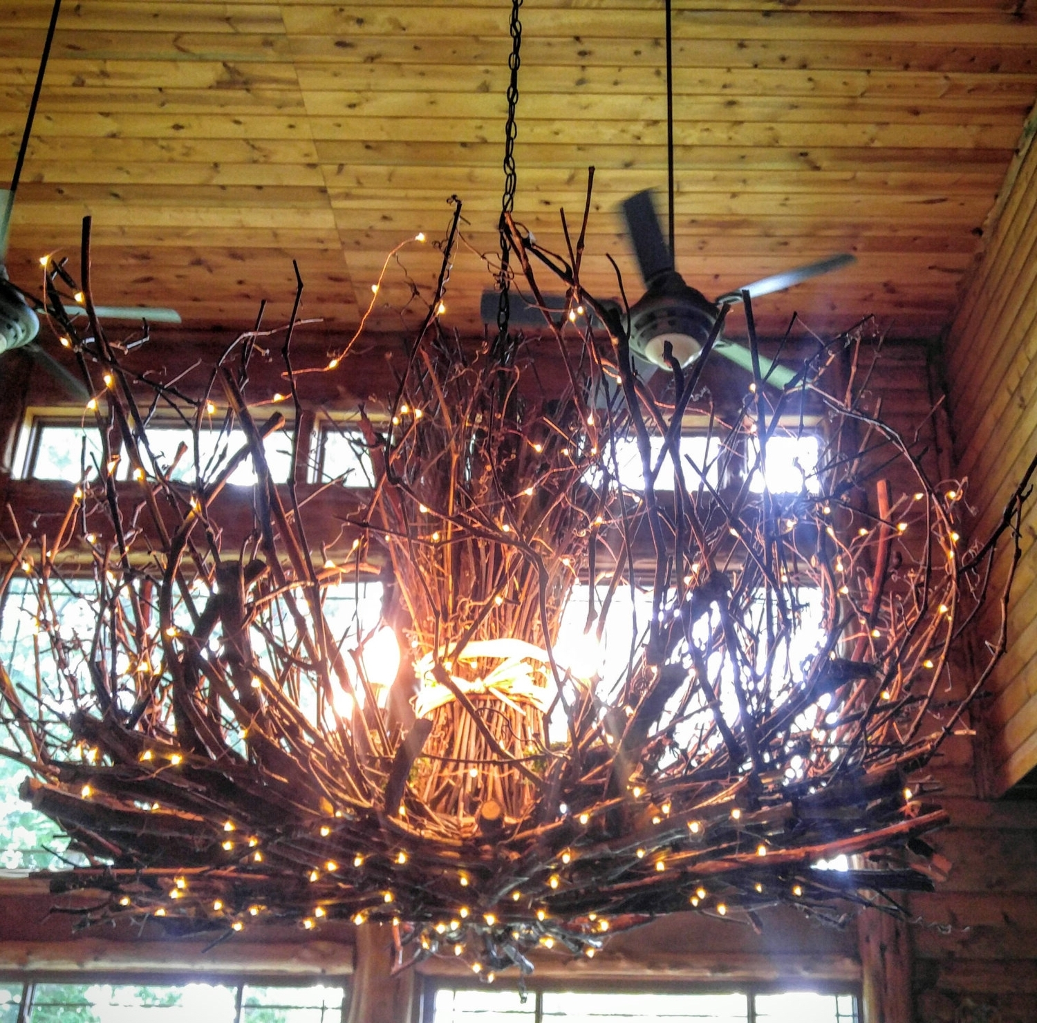 Branched Chandelier Intended For Latest Allegheny – 5 Light– Rustic Twig Chandelier – Grapevine Chandelier (View 7 of 20)
