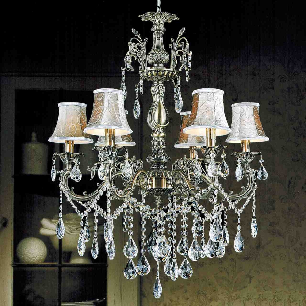 Brass And Crystal Chandeliers Regarding Most Current Brizzo Lighting Stores (View 5 of 20)