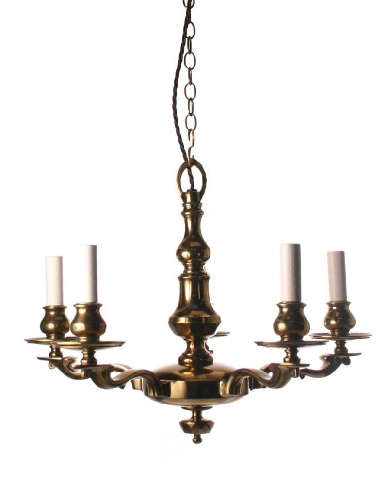 Brass Edwardian Chandelier Inside Current Edwardian Chandeliers (View 9 of 20)