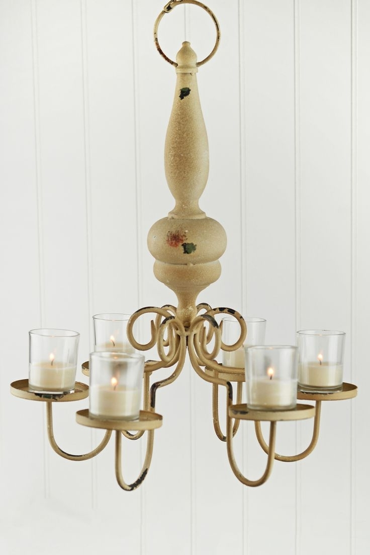 Candle Chandelier Throughout 2019 66 Best Candle Chandelier – Hanging Votive Tea Light Holder Images (View 6 of 20)