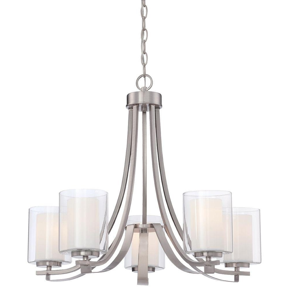 Candle Light Chandelier With Well Liked Minka Lavery Parsons Studio 5 Light Smoked Iron Chandelier 4105  (View 10 of 20)