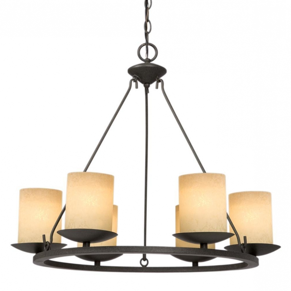 Candle Look Chandeliers With Famous Pillar Candle Look Chandelier – Chandelier Designs (View 4 of 20)
