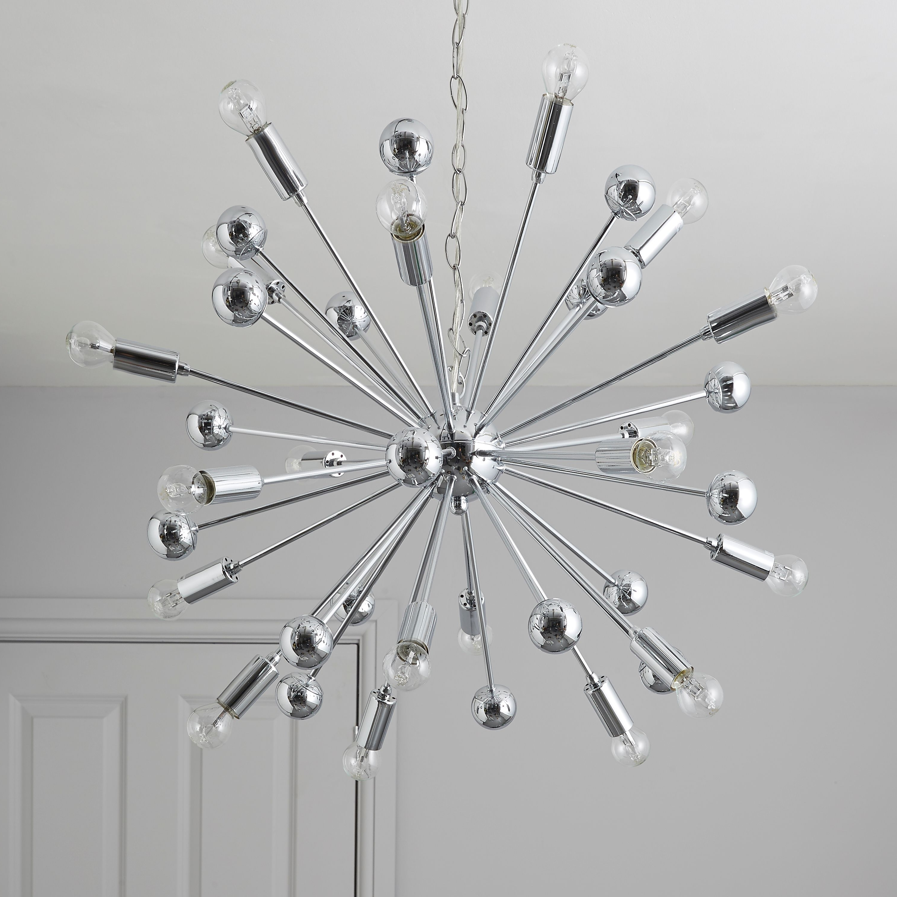Ceiling Pertaining To Well Liked Chrome Sputnik Chandeliers (View 20 of 20)
