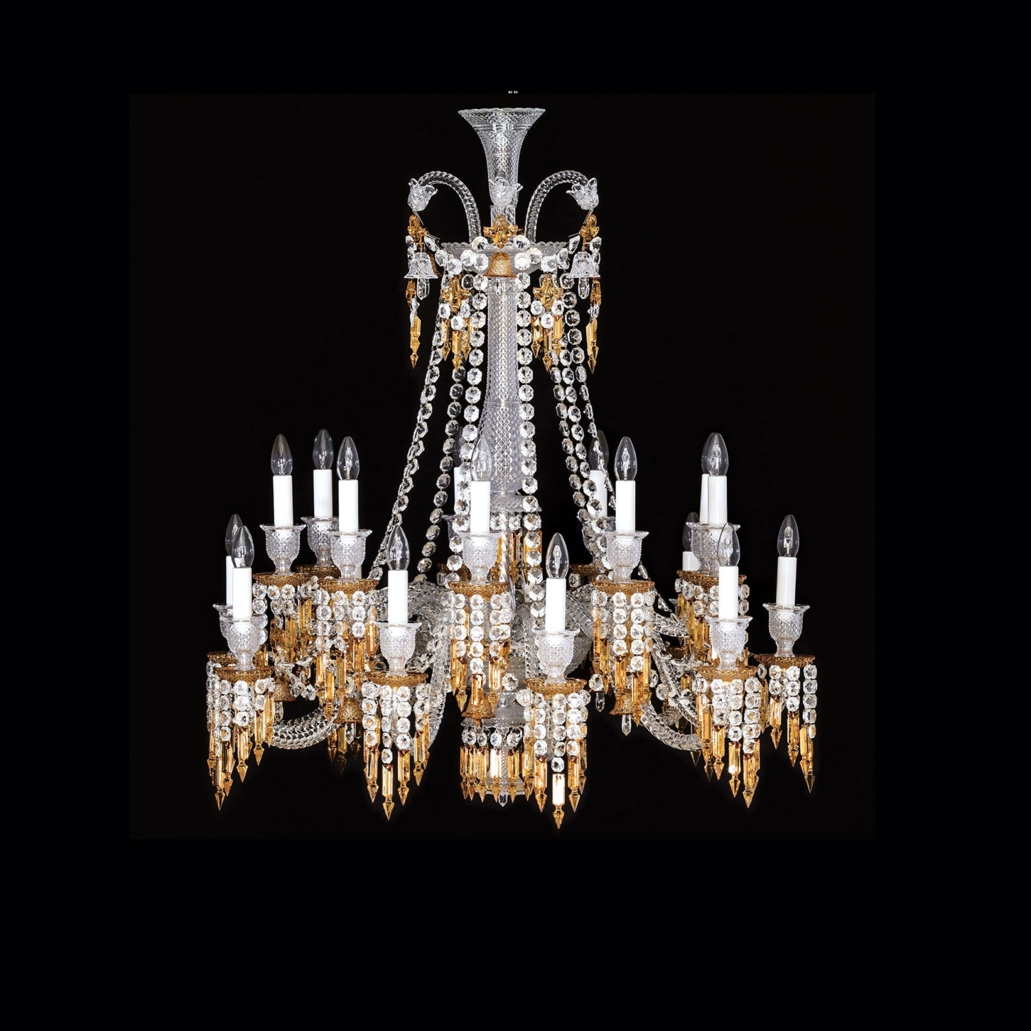 Chandelier 18L Baccarat Zenith Charleston 2809420 In Popular Short Chandelier (View 4 of 20)