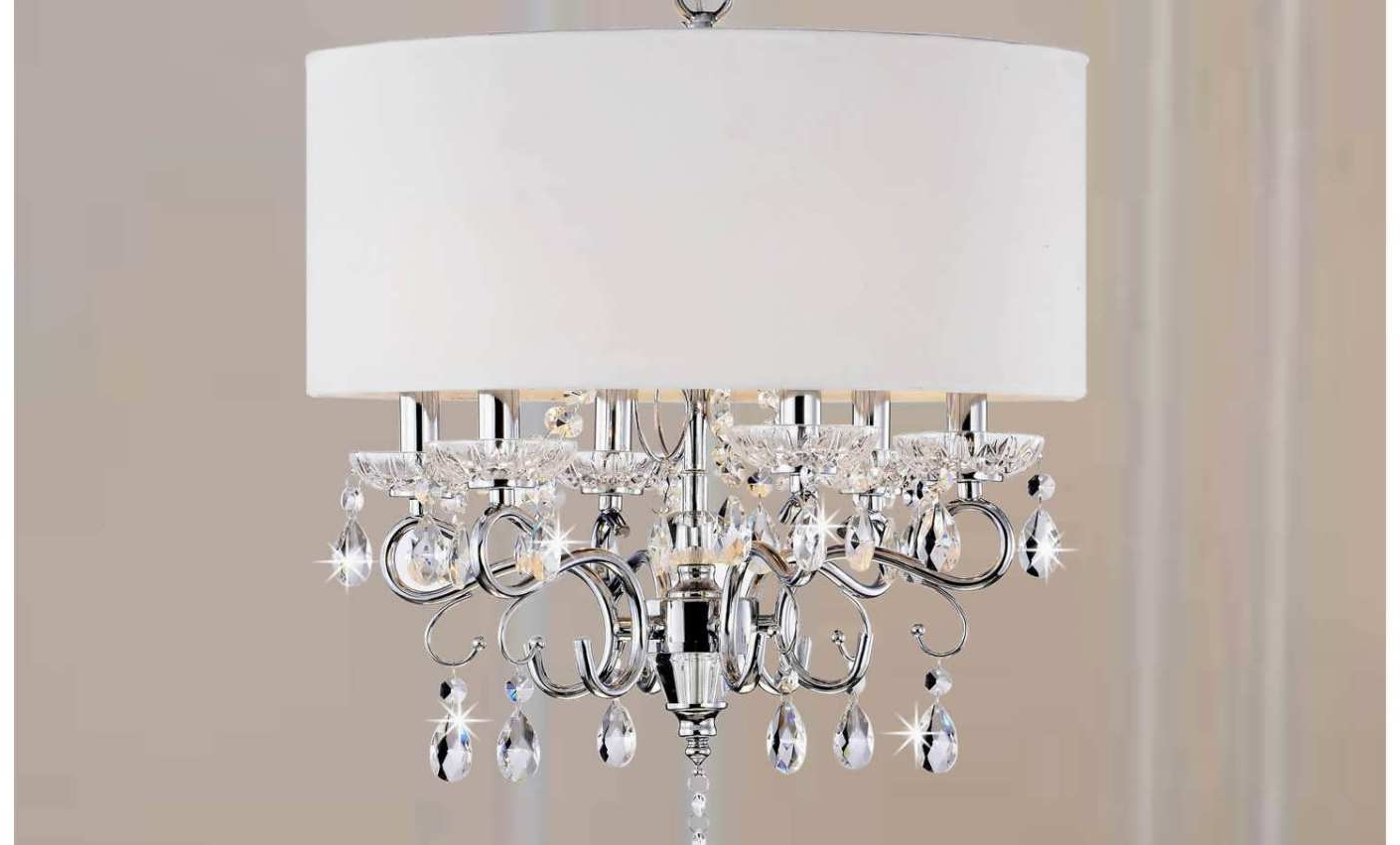 Chandelier : 5 Linen Drum Chandelier Shade Amazing Clip On Drum Throughout Well Liked Clip On Drum Chandelier Shades (View 5 of 20)