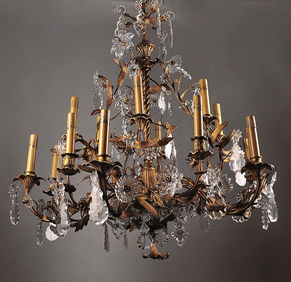 Chandelier: Amusing Large Bronze Chandelier Home Depot Chandeliers Intended For Well Known Large Iron Chandeliers (View 4 of 20)