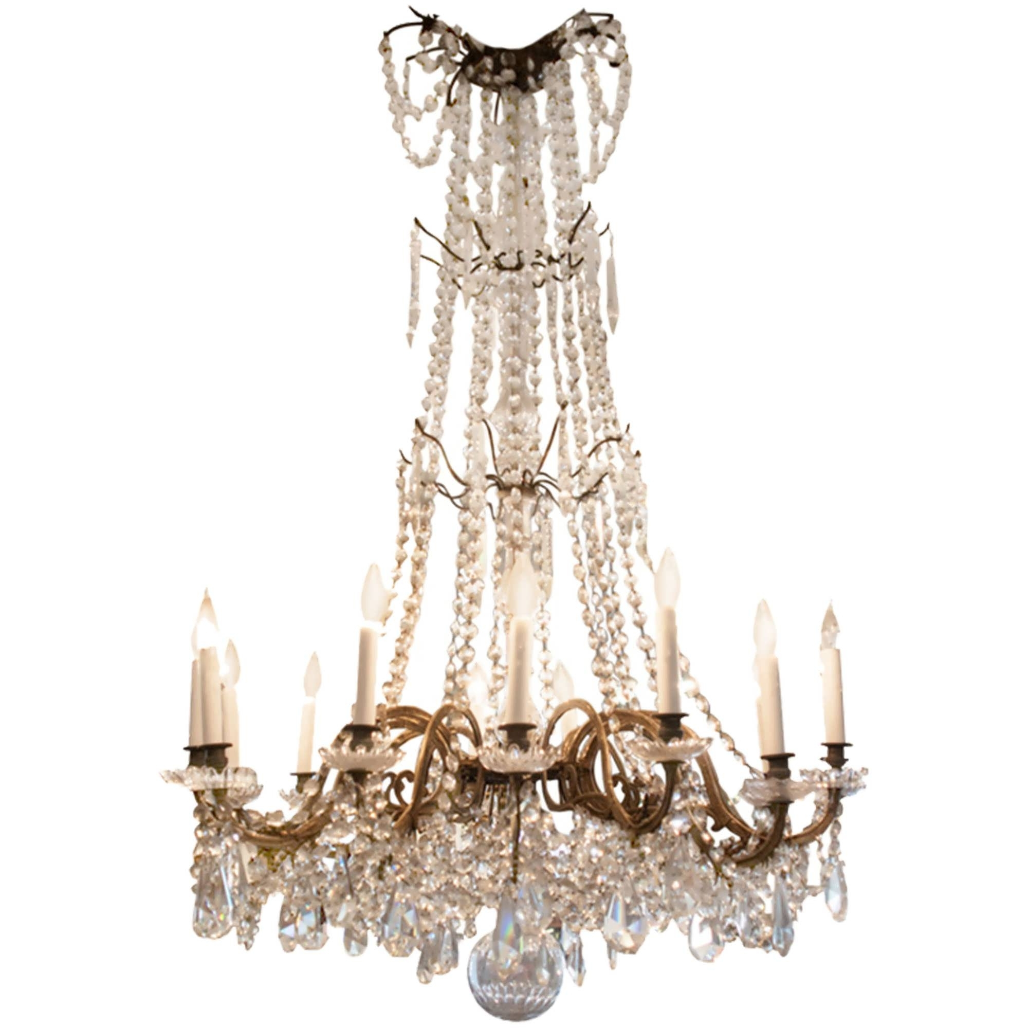 Chandelier : Antique Brass Chandelier Tiffany Chandelier French Within Fashionable French Style Chandeliers (View 16 of 20)