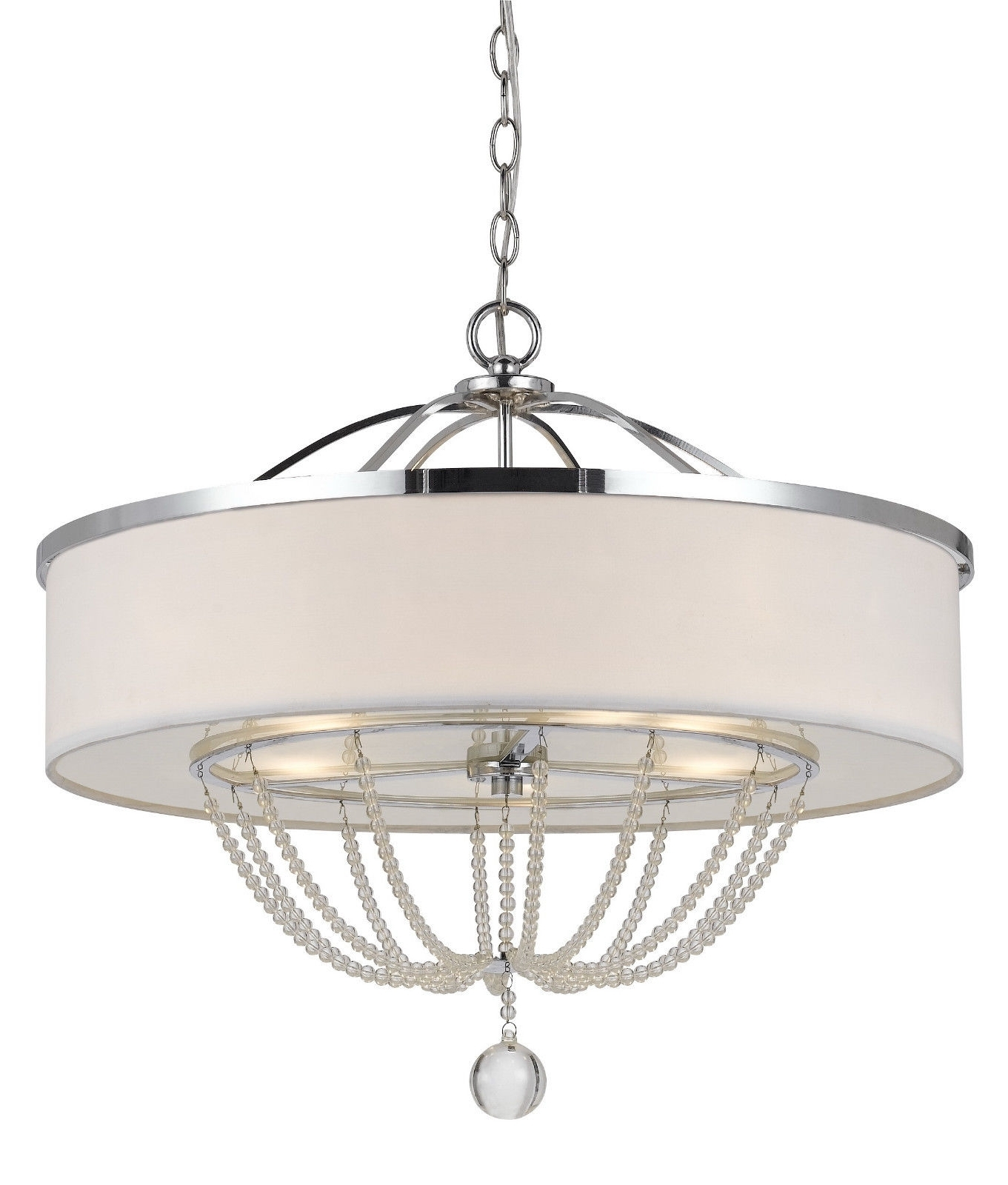 Chandelier: Awesome Modern White Chandelier White Chandeliers For Preferred Modern Silver Chandelier (View 6 of 20)