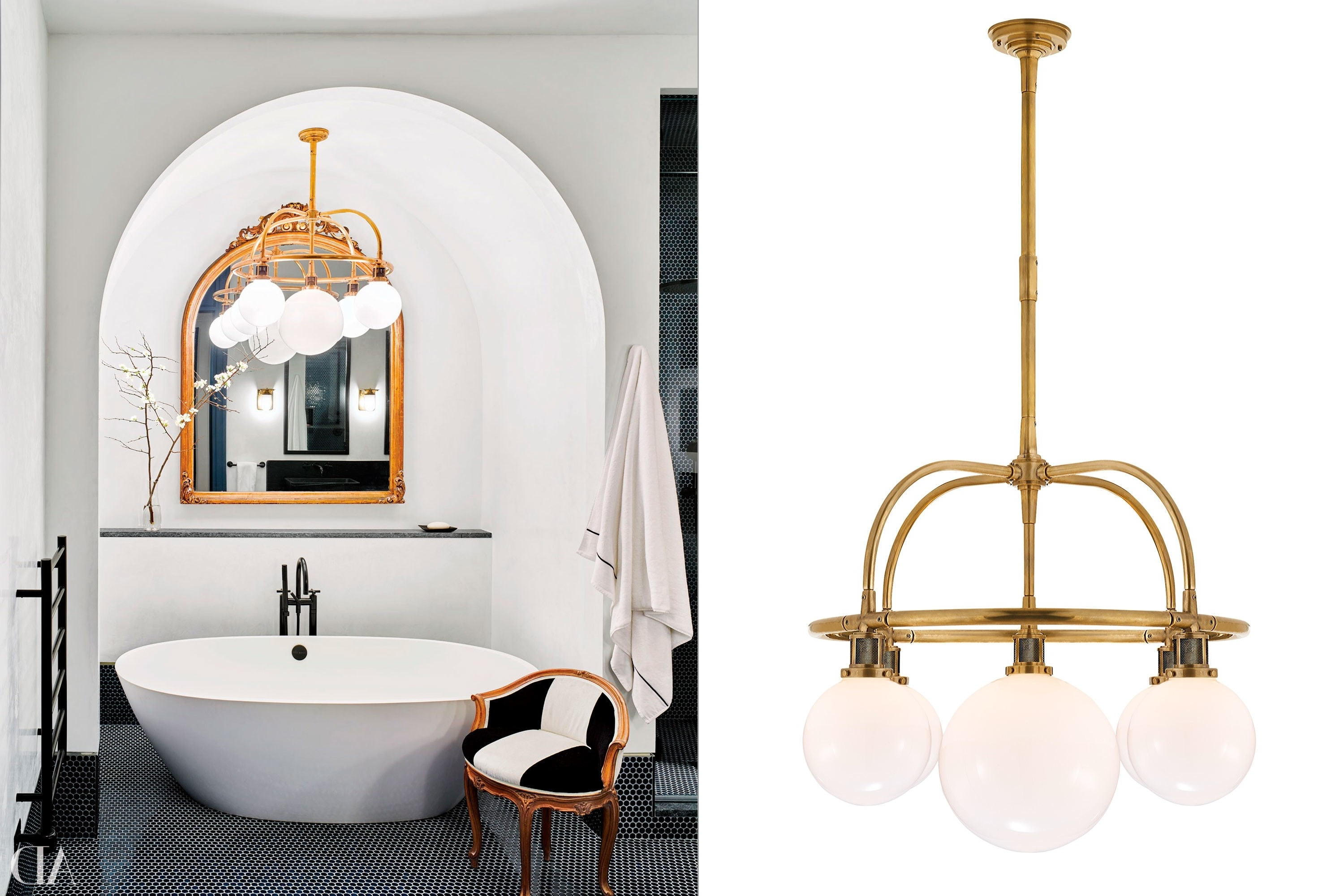 Chandelier Bathroom Lighting Fixtures Throughout 2018 Home Decor Ideas – Bathroom Lighting Photos (View 5 of 20)
