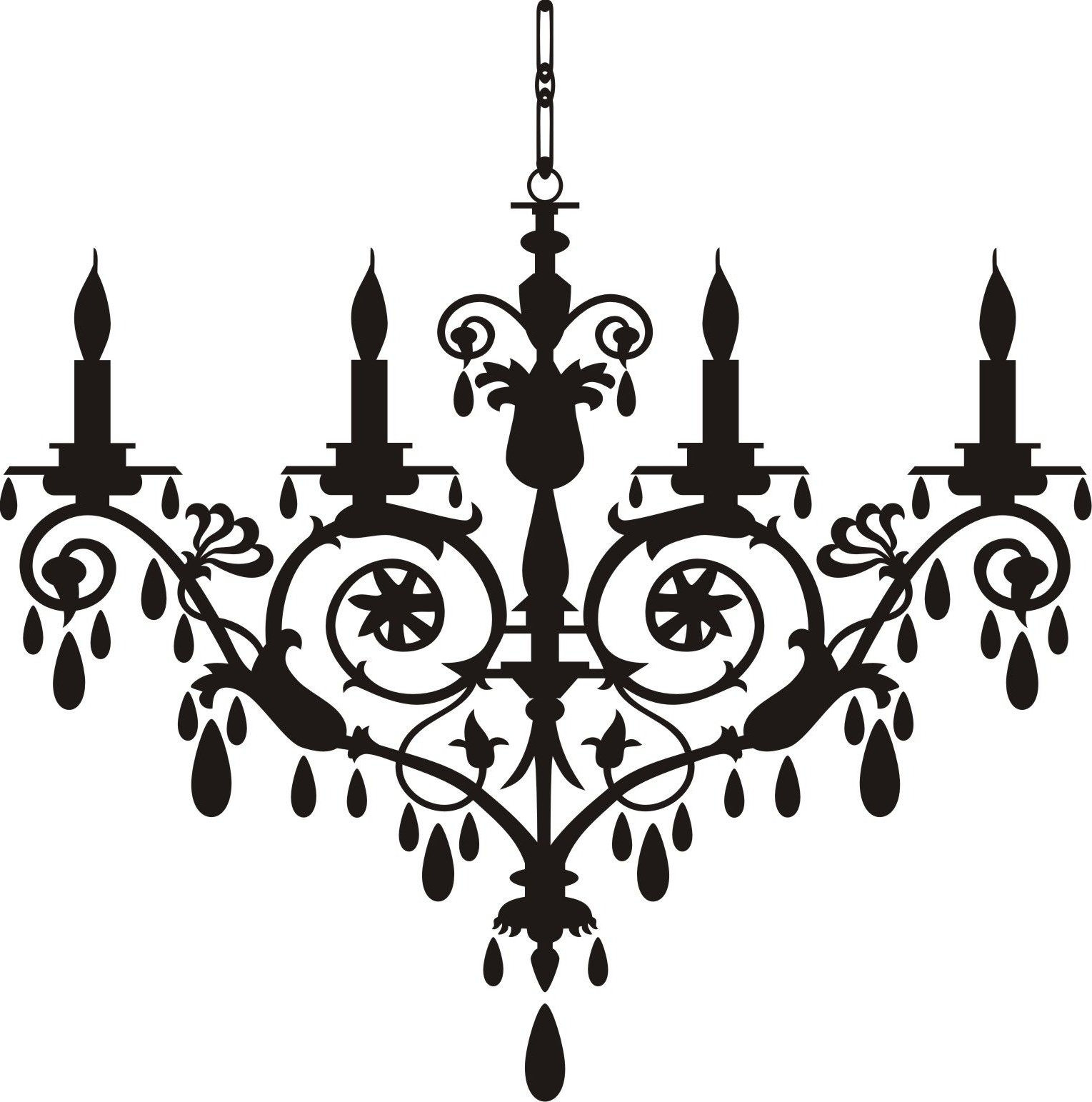 Chandelier Clip Art Http://www (View 2 of 20)