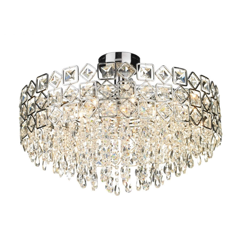 Chandelier For Low Ceiling In Well Known Low Ceiling Chandelier Uk – Chandelier Designs (View 3 of 20)