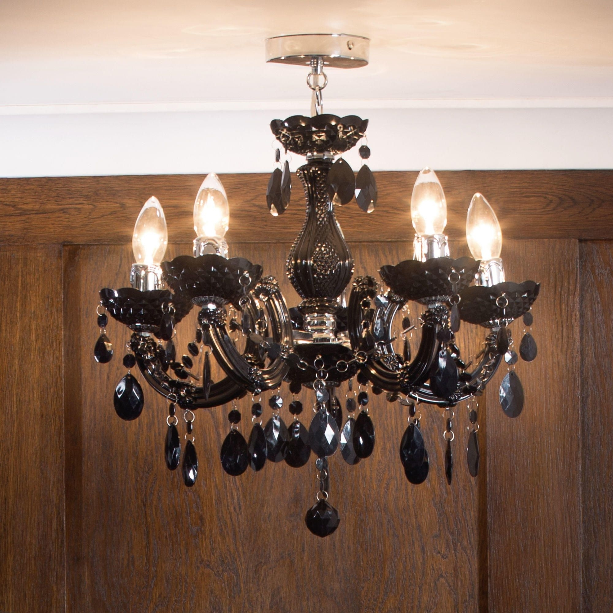 Chandelier For Low Ceiling With Newest Chandeliers For Low Ceilings – Litecraft (View 4 of 20)