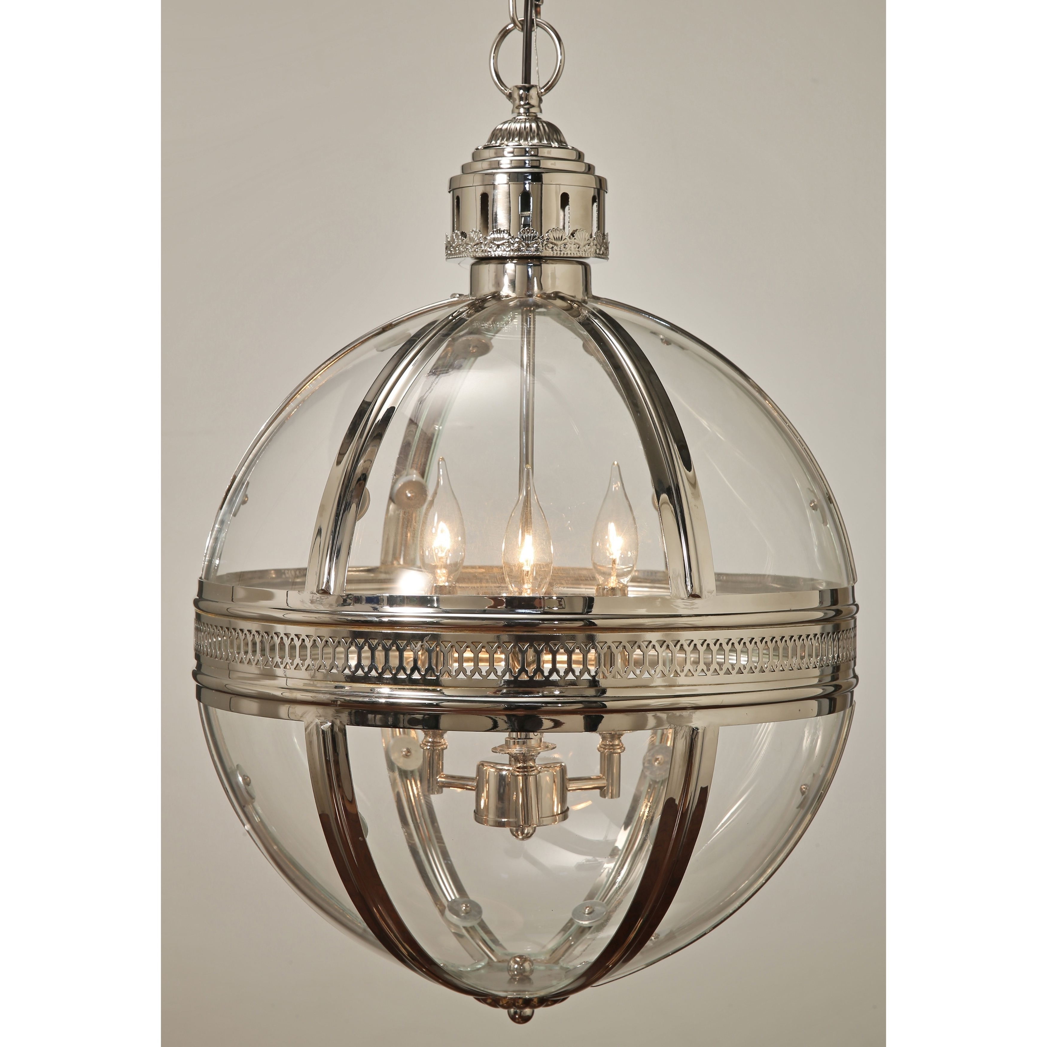 Chandelier Globe With 2019 Abbyson Bentley Glass Globe Chandelier – Free Shipping Today (View 6 of 20)
