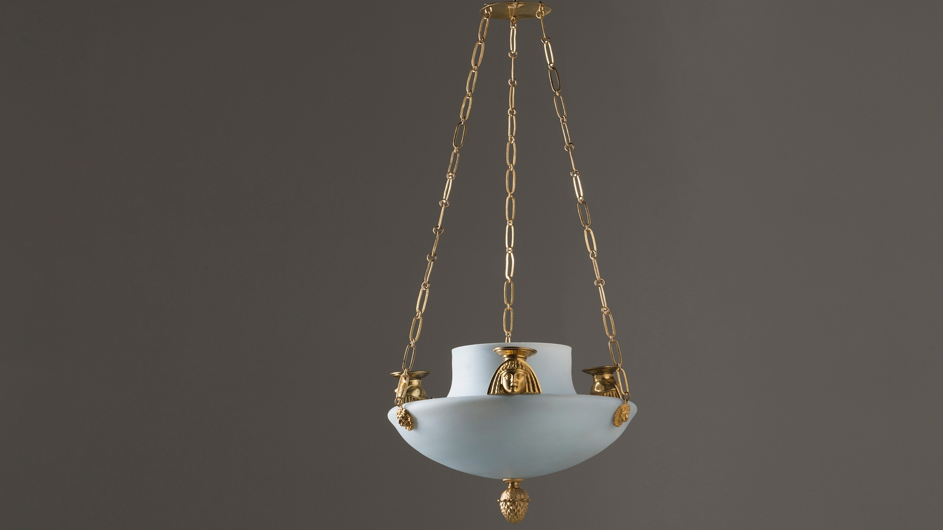 Chandelier In Egyptian Taste Circa 1800 Hoffmans Antikhandel With Regard To 2019 Egyptian Chandelier (View 14 of 20)