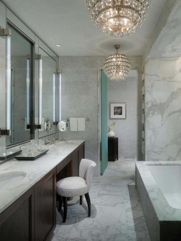 Chandelier In The Bathroom For Widely Used Chandelier ~ Black Iron Lighting Tags : Wrought Iron Chandelier (View 16 of 20)