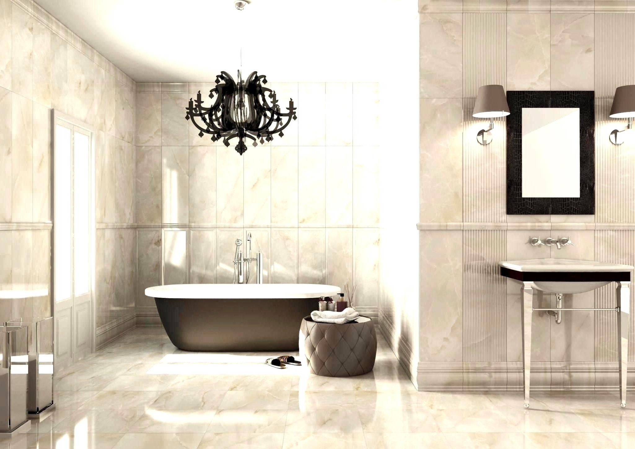 Chandelier In The Bathroom With Regard To Well Known Fabulous Mount Crystal Chandelier Bathroom Ideas Andelier Flush (View 14 of 20)