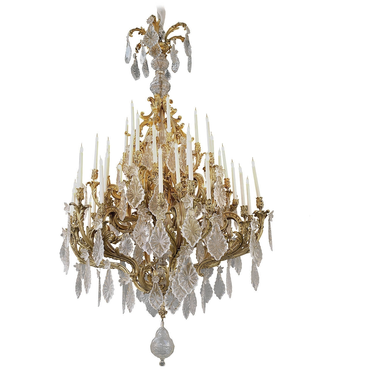 Chandelier Lamps, Big Pertaining To Well Known Expensive Crystal Chandeliers (View 5 of 20)