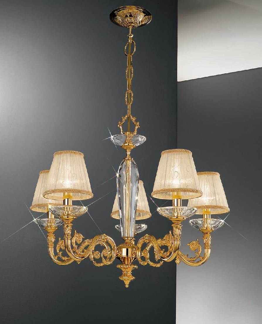 Chandelier Light Shades In Fashionable Getting Decent Chandelier Lamp Shades For Your Old Chandelier (View 6 of 20)