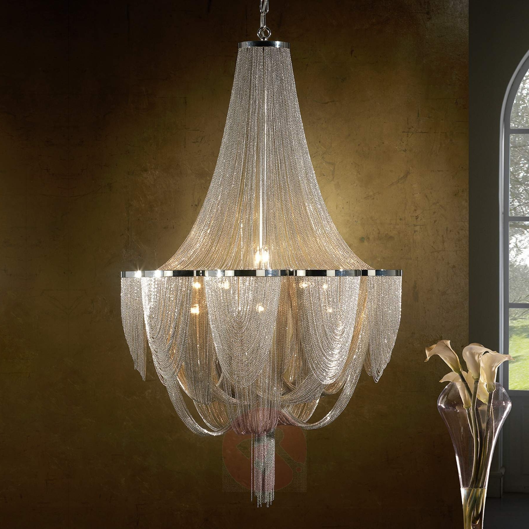 Chandelier Lights Pertaining To Most Current 15 Light Chandelier Minerva (View 8 of 20)