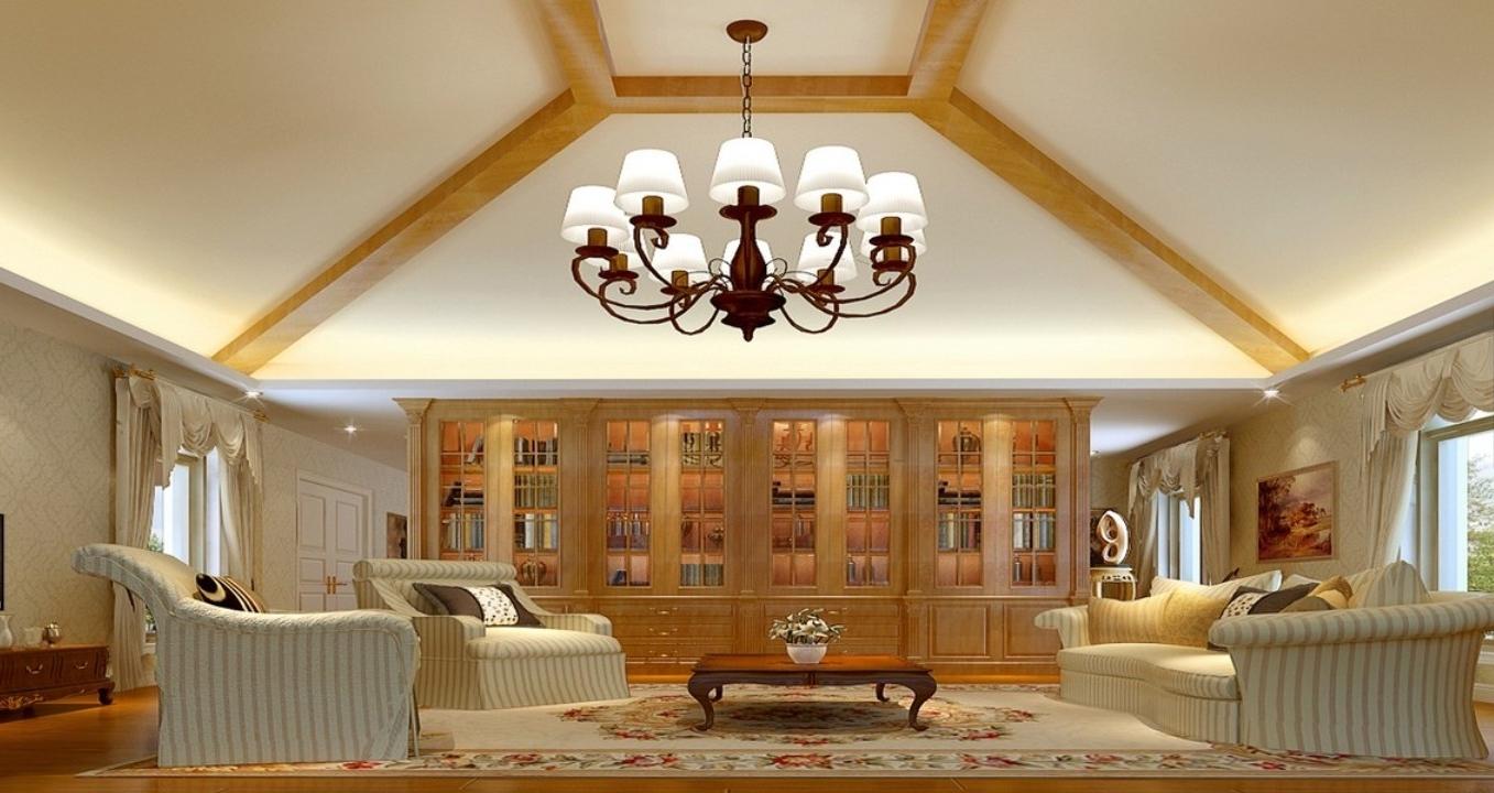Chandelier Living Room (View 3 of 20)