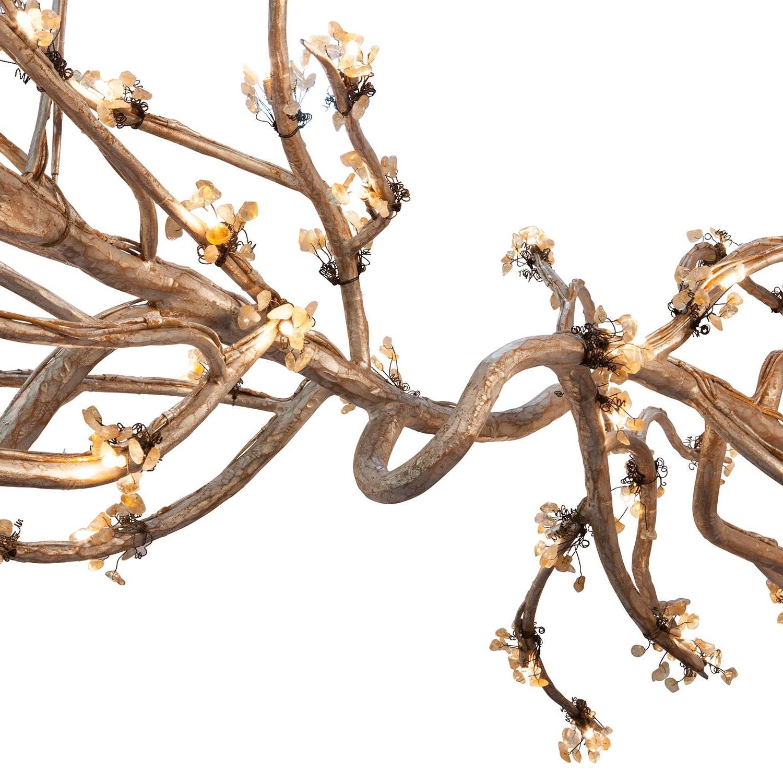 Chandelier : Modern Branched Chandelier Gold Dining Room Light Regarding Favorite Branched Chandelier (View 17 of 20)
