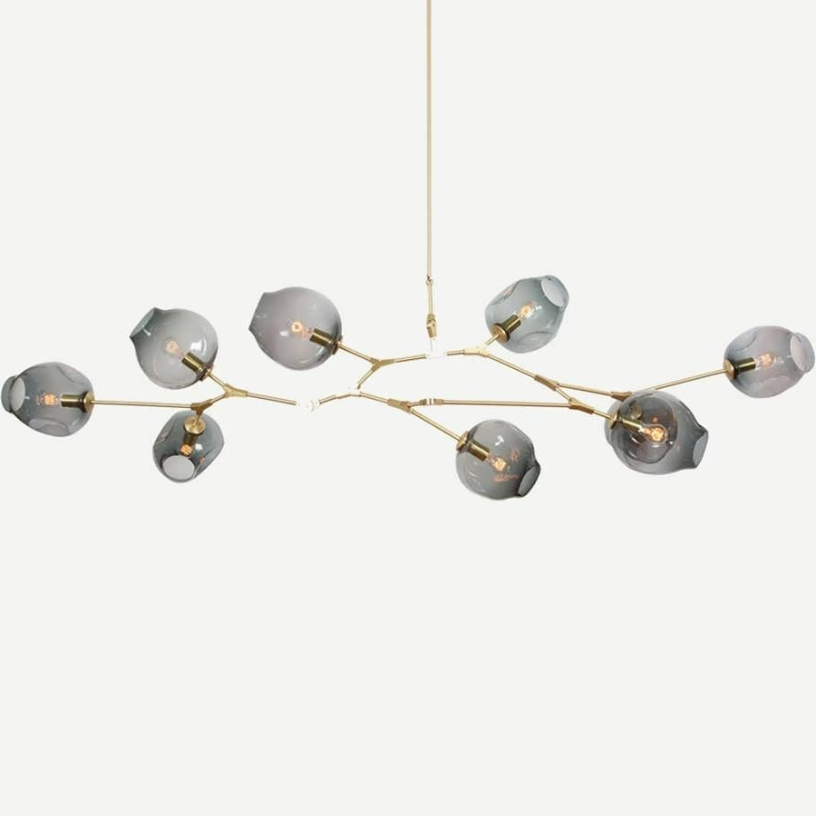 Chandelier : Modern Branched Chandelier Gold Dining Room Light Throughout Most Popular Branched Chandelier (View 15 of 20)