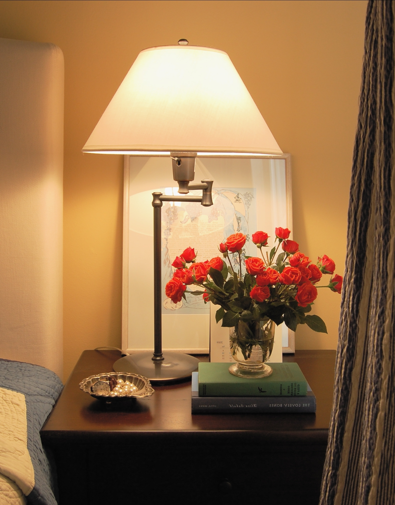 Chandelier Night Stand Lamps In Best And Newest Lighting : Tall Side Lamps Slim Lamp Table Torch Lamp Table Lamp (View 10 of 20)