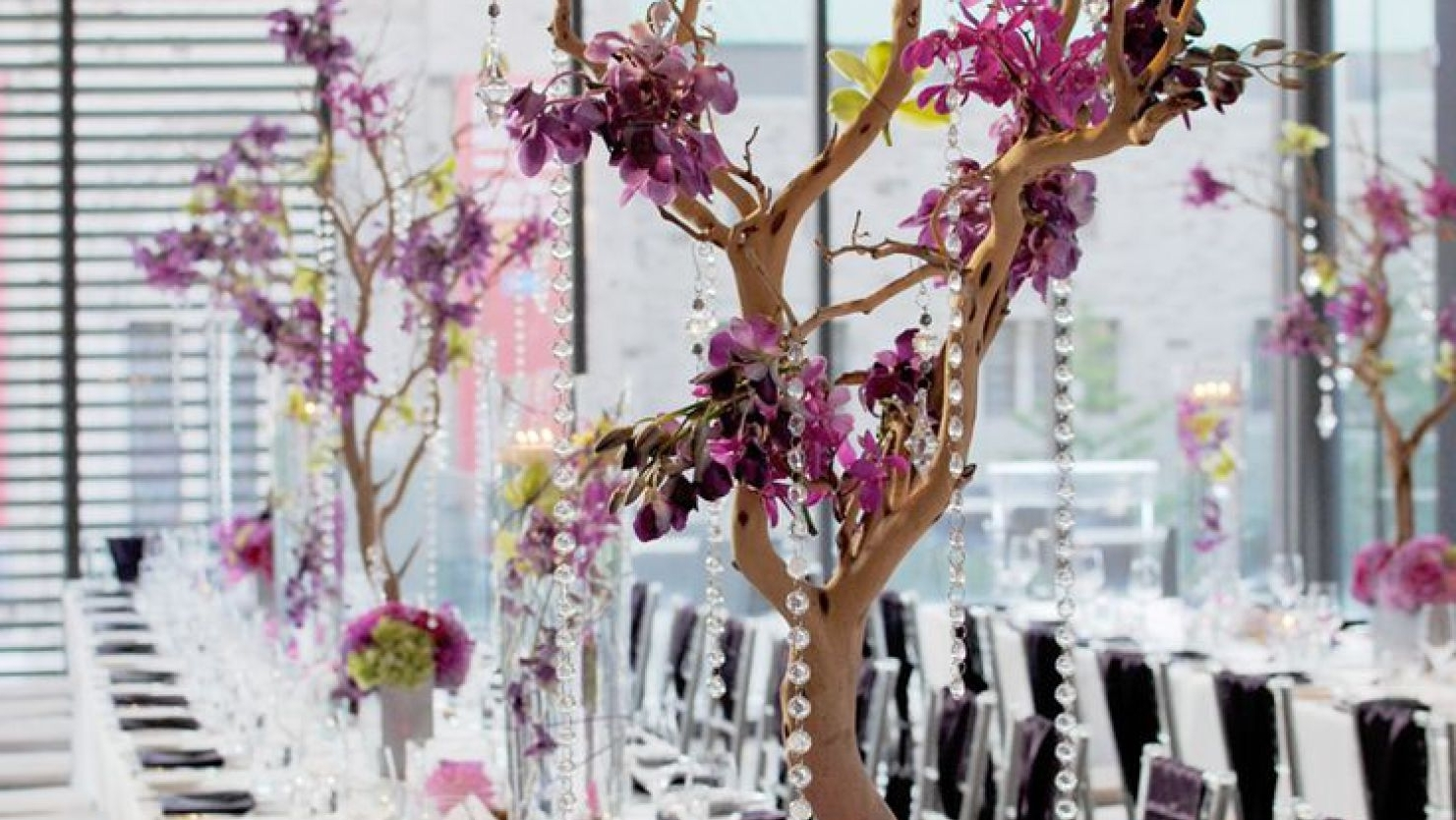 Chandelier : Stunning Faux Crystal Chandelier Wedding Bead Strands Within Latest Faux Crystal Chandelier Centerpieces (View 5 of 20)