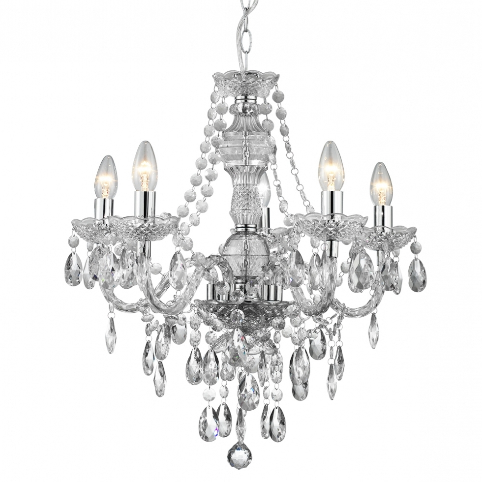 Chandelier ~ Traditional Multi Arm Ceiling Lights (View 2 of 20)