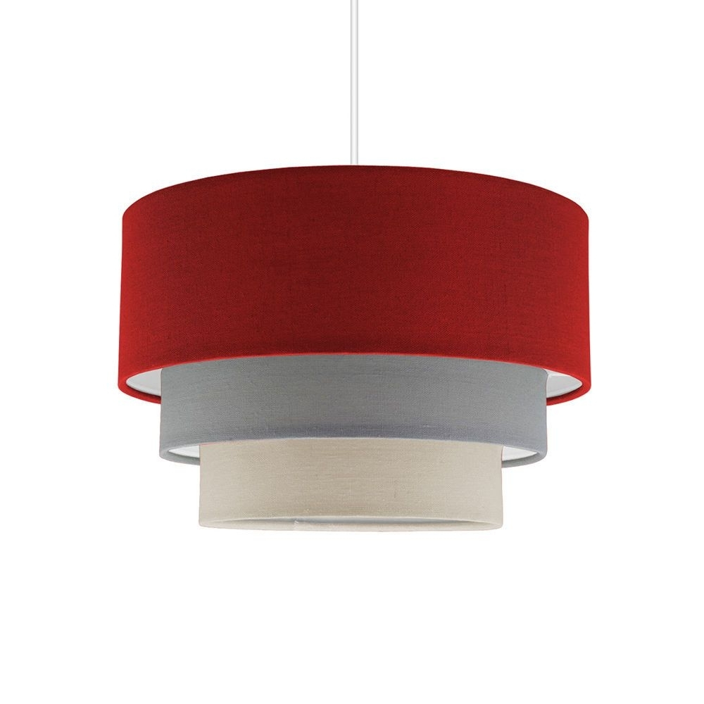 Chandeliers : 51 Modern Items Red Chandelier Lamp Shades Images Inside Fashionable Modern Red Chandelier (View 16 of 20)