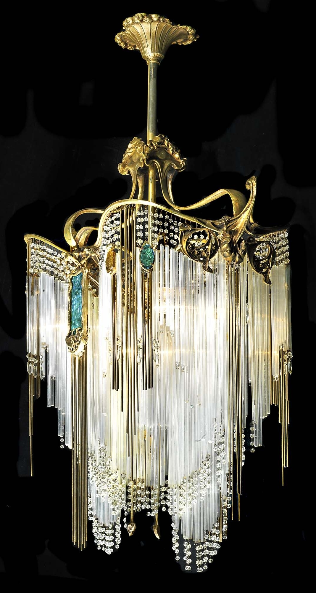 Chandeliers, Art Inside Art Deco Chandelier (View 11 of 20)