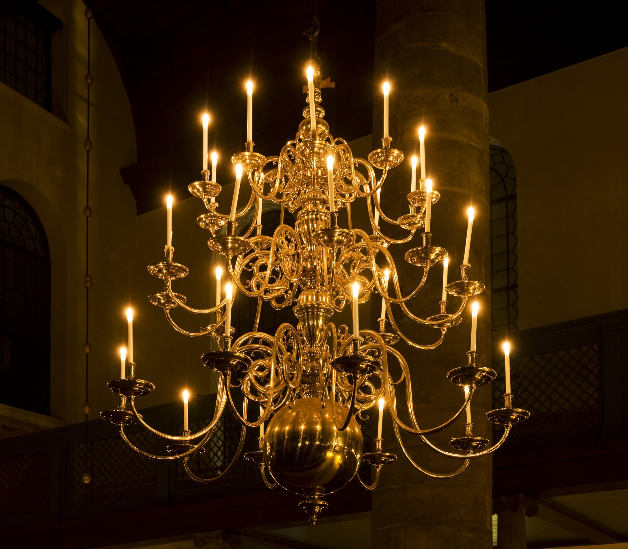 Chandeliers, Brass Chandelier With Regard To Candle Light Chandelier (View 12 of 20)