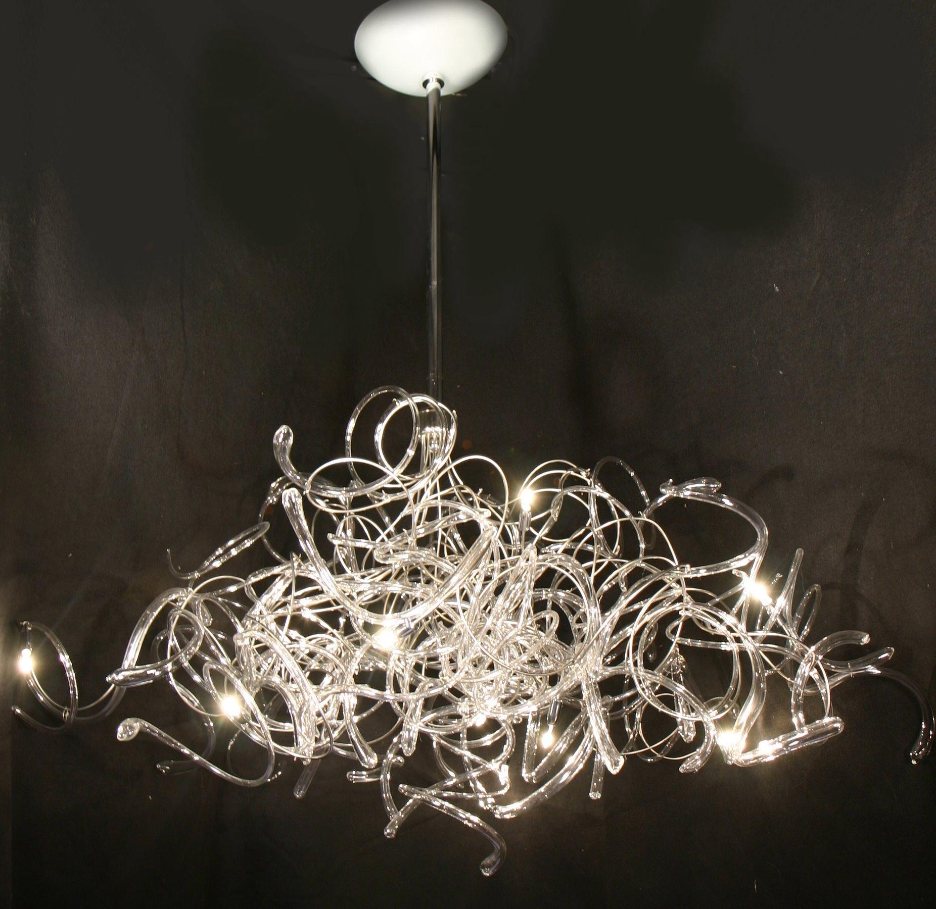 Chandeliers : Contemporary Chandelier Lighting Luxury Contemporary Regarding Trendy Contemporary Chandeliers (View 4 of 20)
