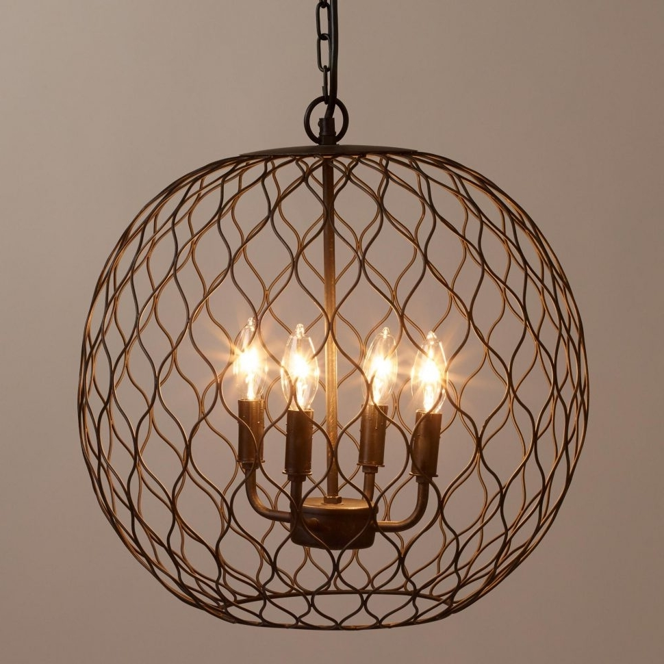 Chandeliers Design : Amazing Mesmerizing Farmhouse Chandeliers In Best And Newest Chandelier Globe (View 8 of 20)