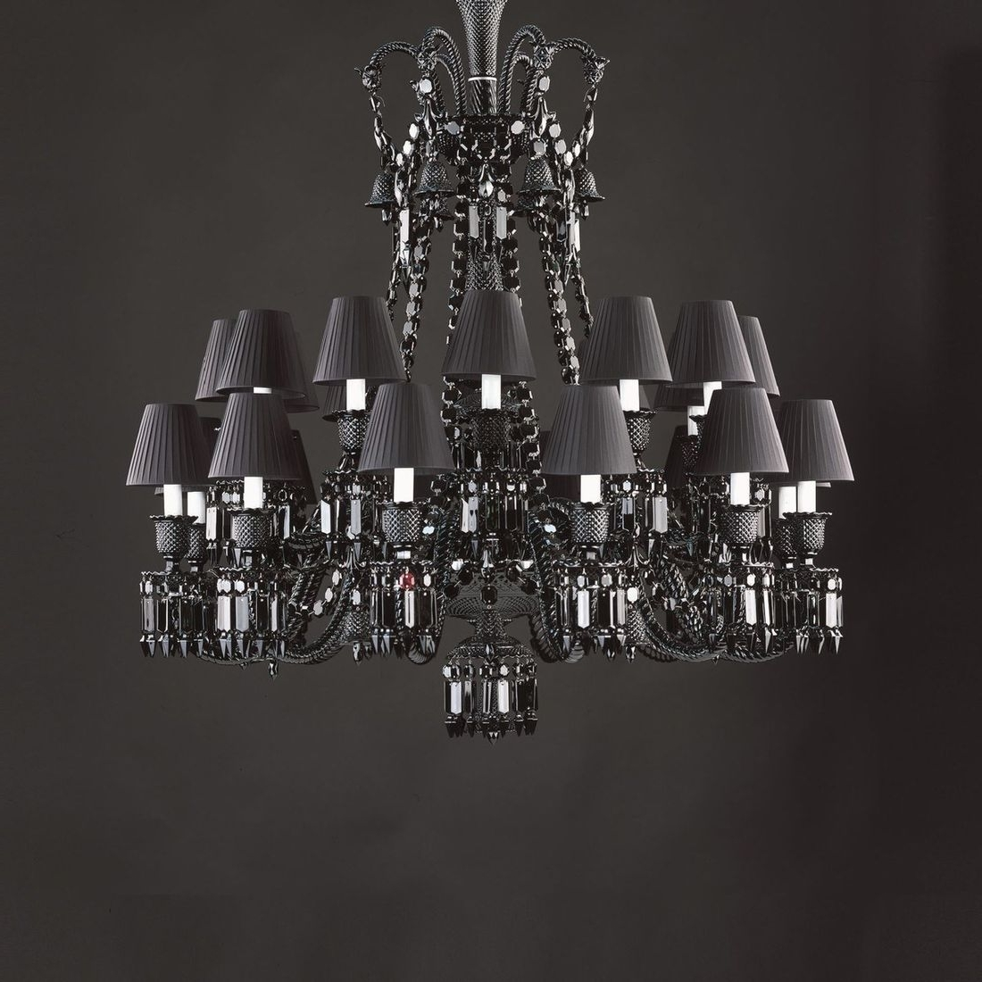 Chandeliers Design : Awesome Baccarat Chandelier Clear Zenith Xml Intended For Widely Used Short Chandeliers (View 4 of 20)