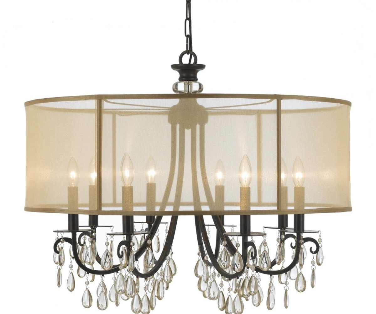 Chandeliers Design : Wonderful Amazon Com Lightinthebox Contemporary Throughout Latest Chandelier With Shades And Crystals (View 5 of 20)