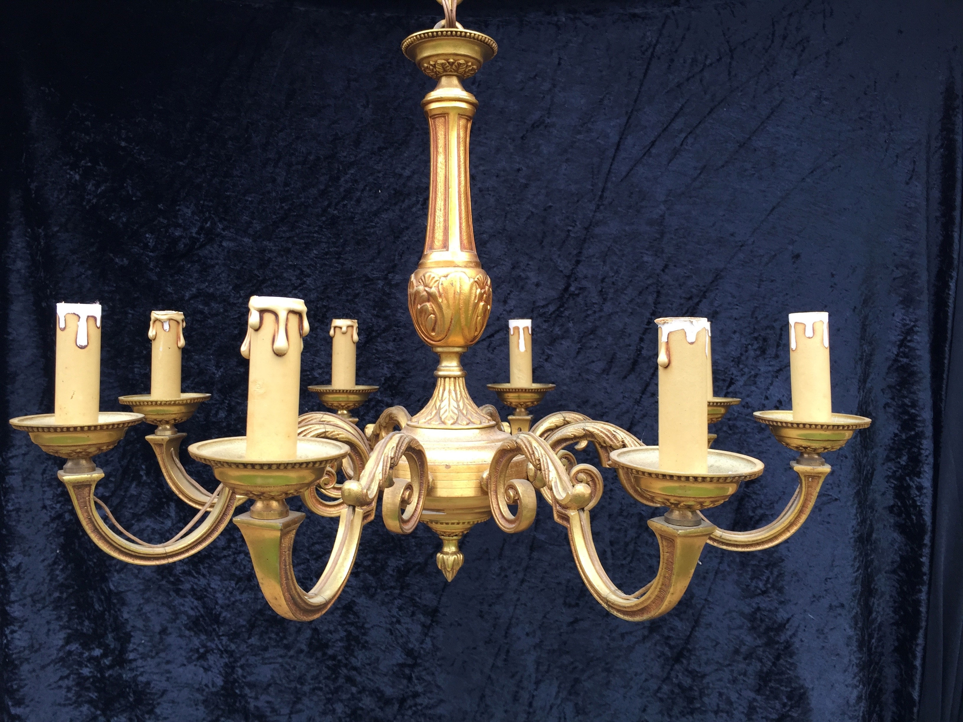 Chandeliers Design : Wonderful Antique Chandeliers No Crystal Inside Widely Used Italian Chandeliers Style (View 17 of 20)