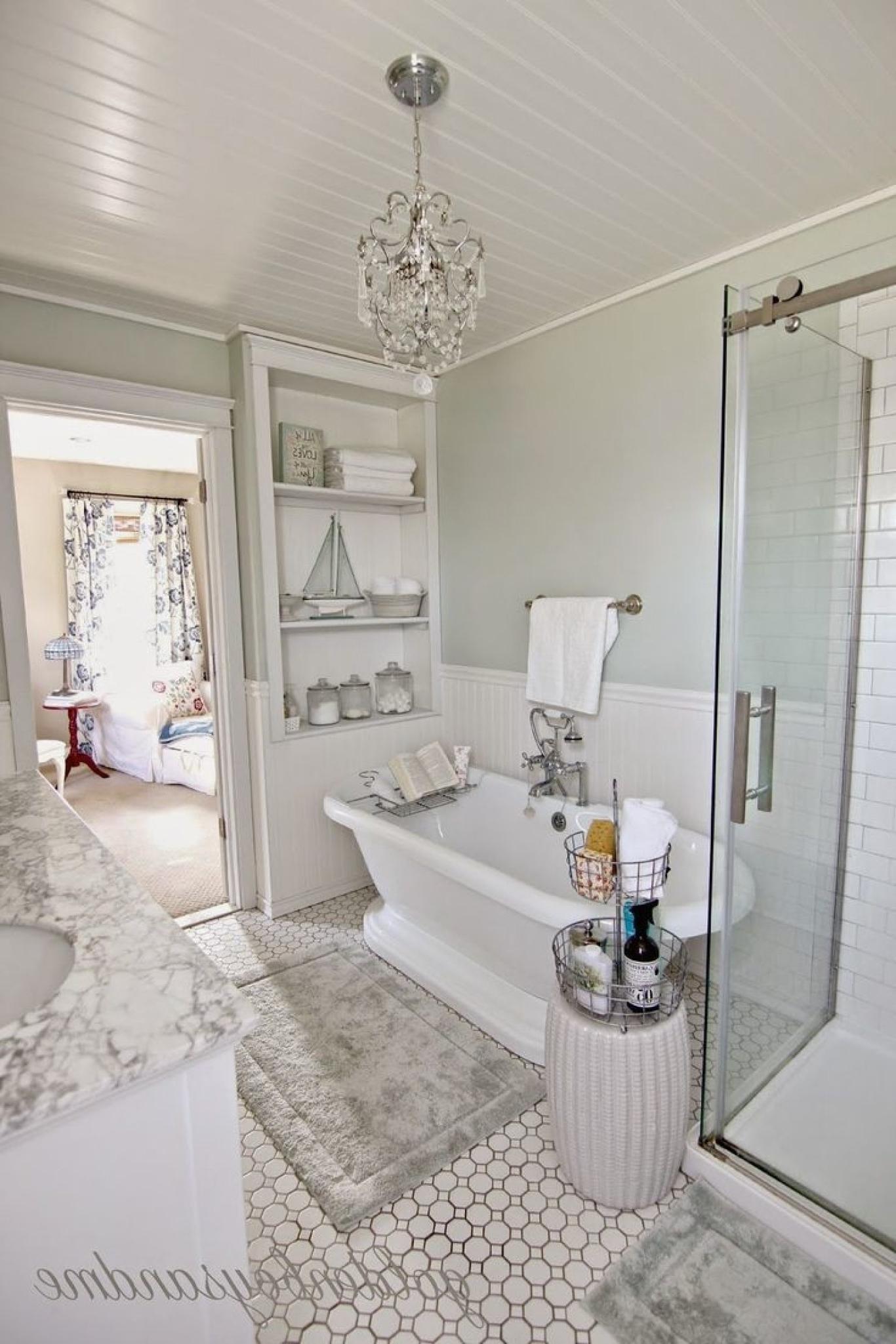 Chandeliers For Bathroom Regarding 2018 Bathroom Chandeliers (View 8 of 20)