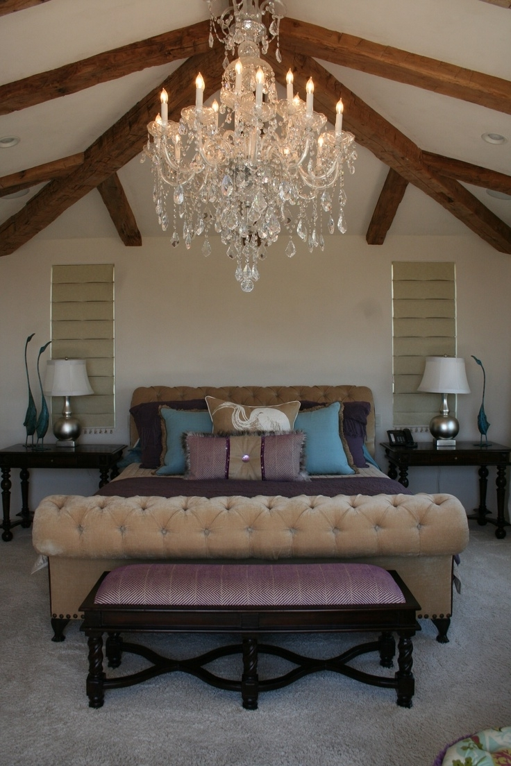 Chandeliers In The Bedroom Inside Current 15 Best Chandeliers Images On Pinterest (View 5 of 20)