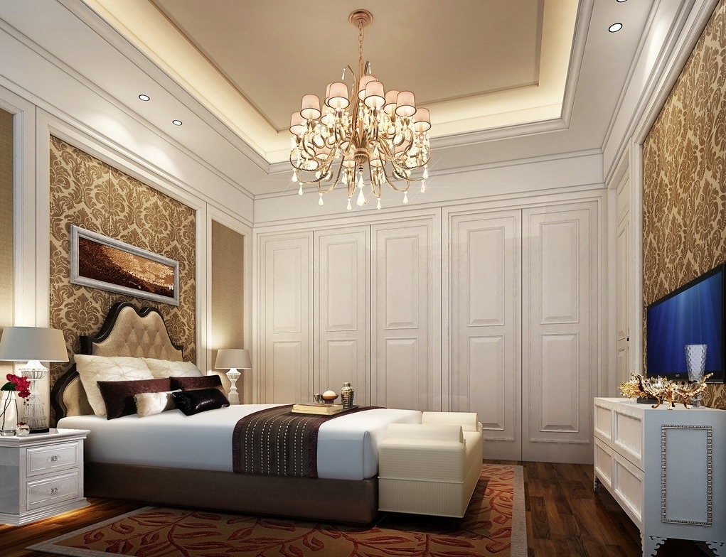 Chandeliers In The Bedroom With Regard To Newest 5 Reasons Why You Need To Hang A Chandelier In Every Room (View 19 of 20)
