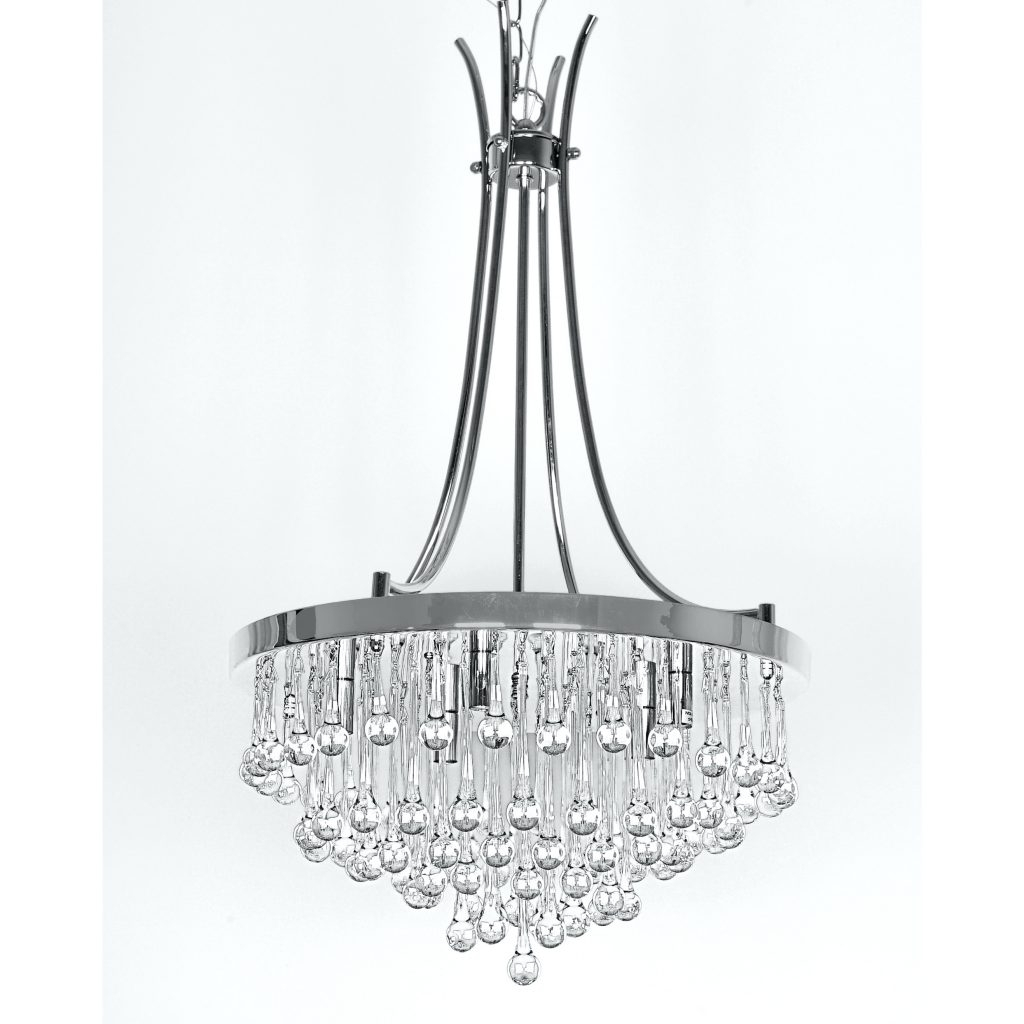 Chandeliers ~ Large Faux Crystal Chandelier Faux Crystal Chandelier Intended For 2018 Faux Crystal Chandelier Centerpieces (View 6 of 20)