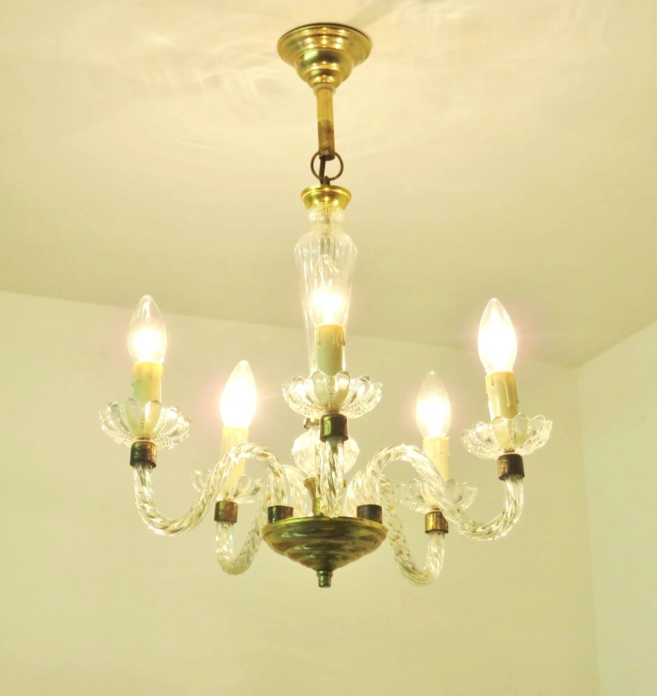 Chandeliers ~ Murano Chandelier Replica Lovely Vintage Murano Style With Regard To Fashionable Murano Chandelier Replica (View 11 of 20)