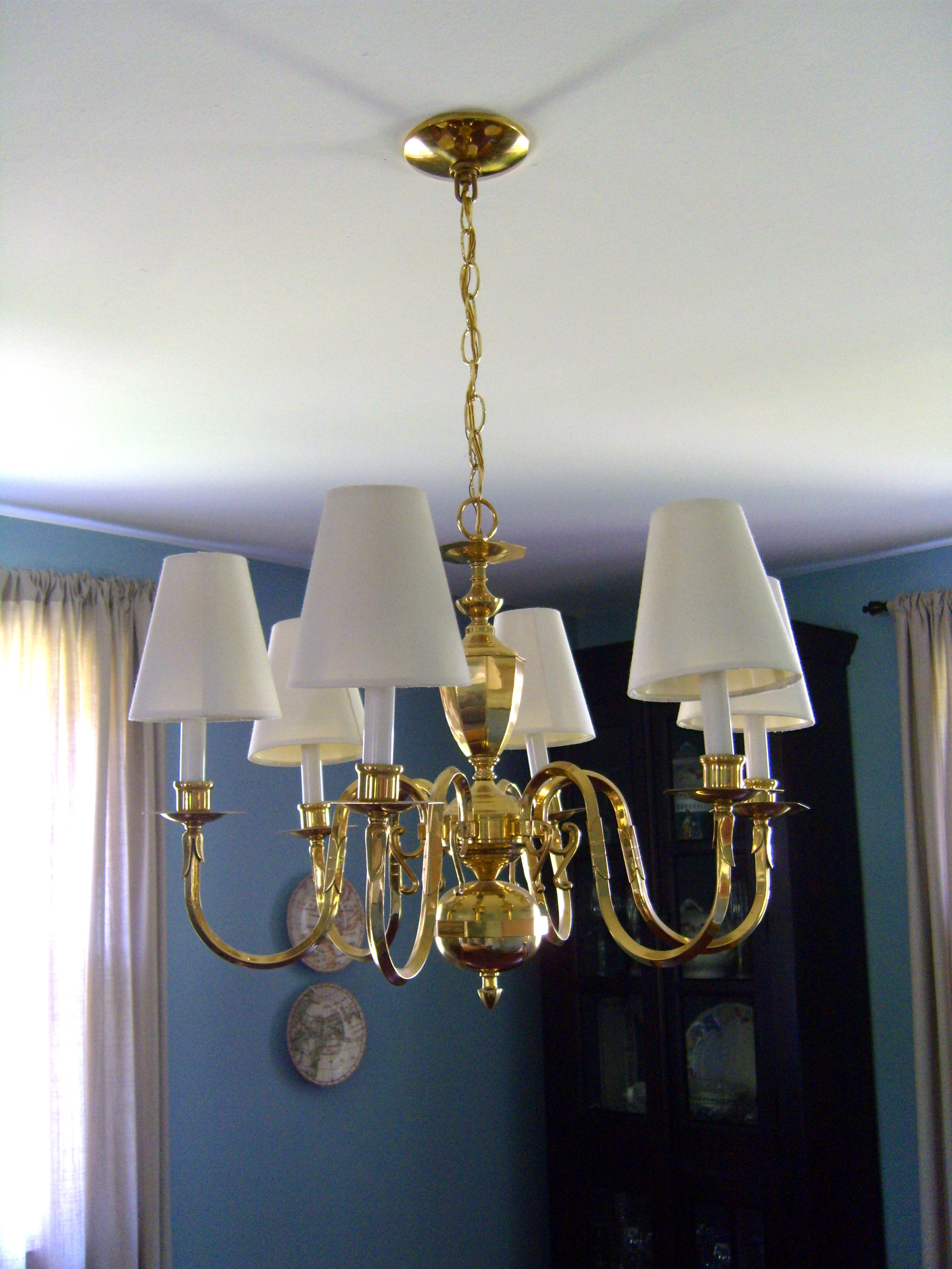 Chandeliers With Lamp Shades Within Most Current Chandelier Lamp Shades Drum Shape Tab Blackover Drumless Less Shade (View 2 of 20)