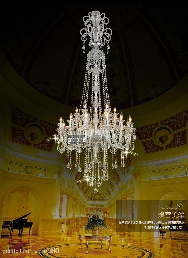 Cheap Big Chandeliers For Newest Chinese Chandeliers Large Kitchen Chandelier Crystal Pendants For (View 7 of 20)