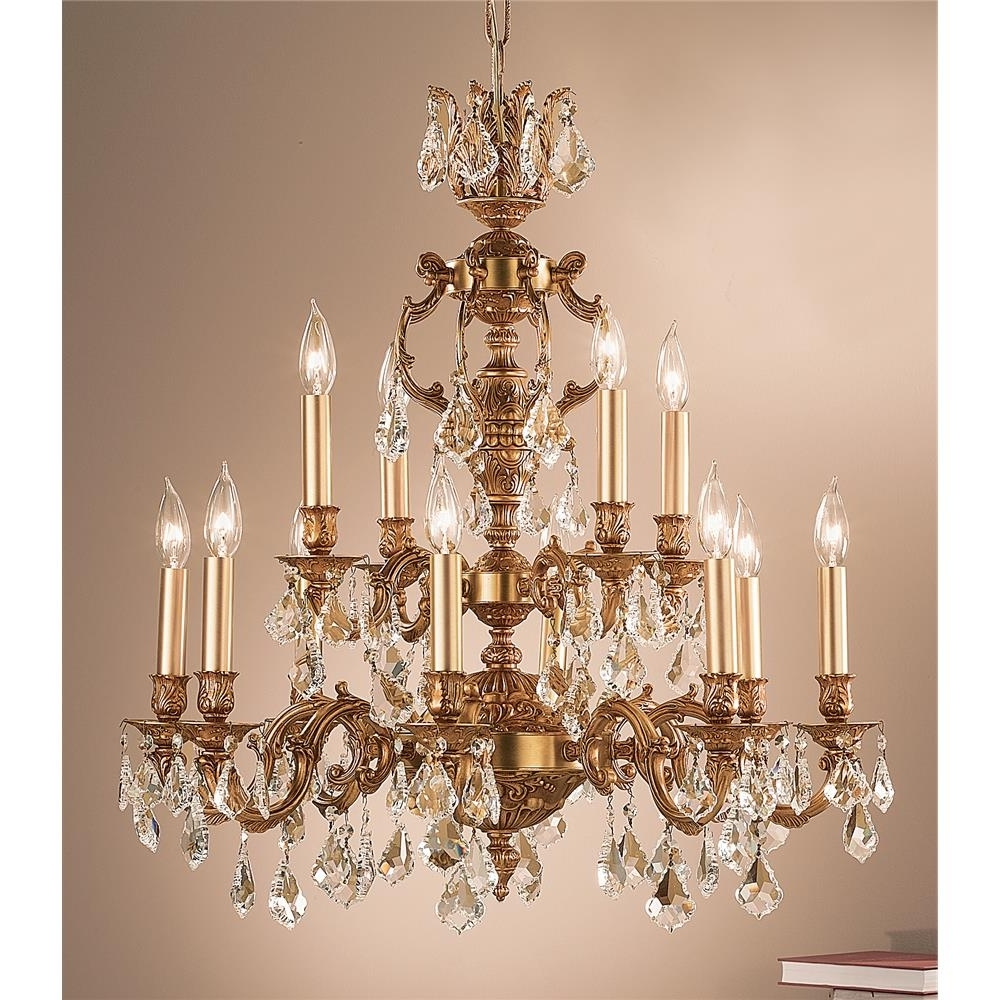 Classic Lighting Chandeliers Series / Collection: Chateau Throughout Most Popular French Gold Chandelier (View 4 of 20)