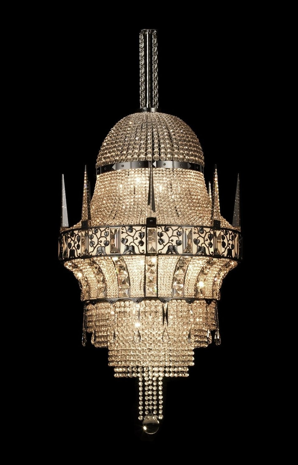 Classic Style Chandelier – Cologne Josef Hoffmann – J (View 17 of 20)