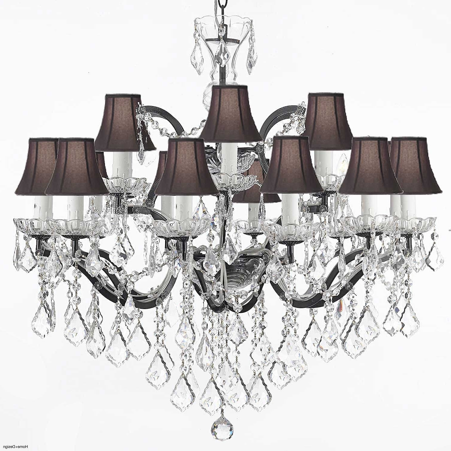 Clip On Chandelier Lamp Shades Regarding Famous Clip On Lamp Shades For Chandeliers Uk – Chandelier Designs (View 12 of 20)